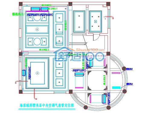 中央空调设计与施工-中央空调设计施工方案图展示