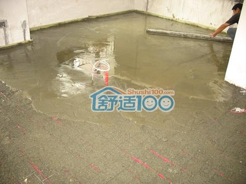 地暖安装示意图 水地暖安装工艺流程