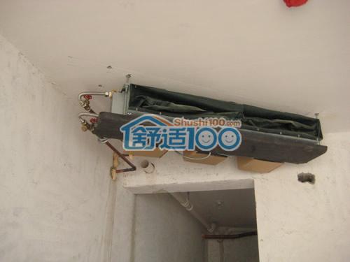 特灵中央空调室内风机盘管安装