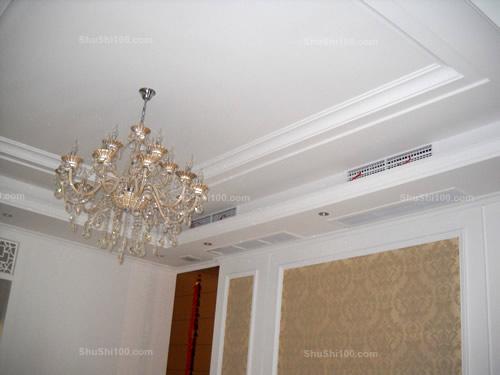 中央空调安装示意图-客餐厅中央空调安装实例展示