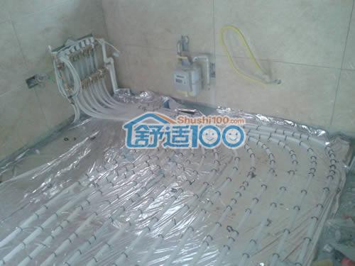 地暖集分水器安装