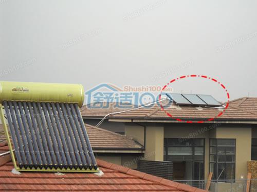 长源假日港湾中央空调,地暖,新风,太阳能集成安装案例