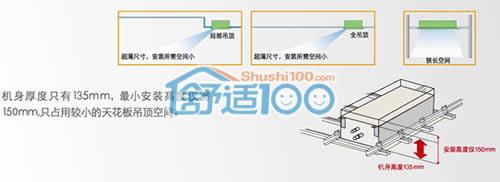 三星中央空调嵌入式室内机