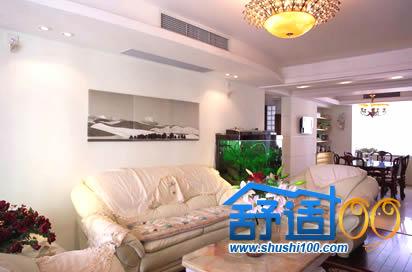 两房两厅135平米安装大金LMX系列中央空调实例