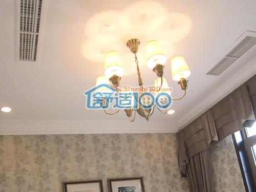 中央空调装修效果图-武汉家用中央空调装修实例展示