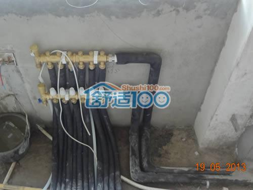 地暖分水器安装