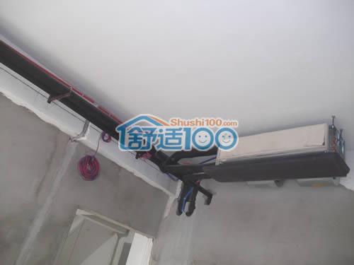 """武汉水墨甲秀地源热泵新风系统工程案例-打造会""""呼吸""""的恒温住宅"""