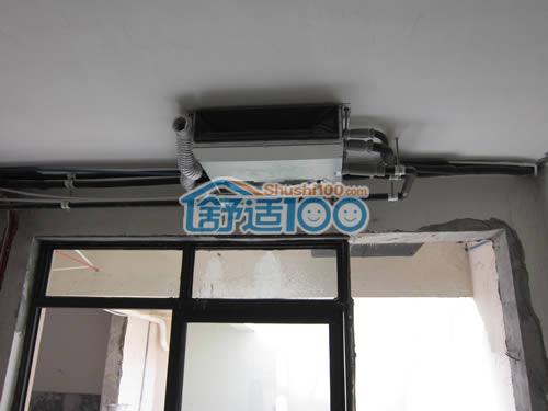 武汉保利中央公馆三星中央空调、松下新风系统工程案例