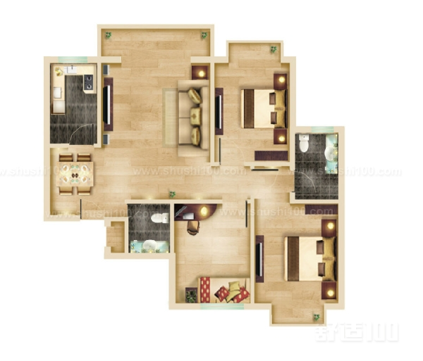 家装平面布置—家装平面如何布局