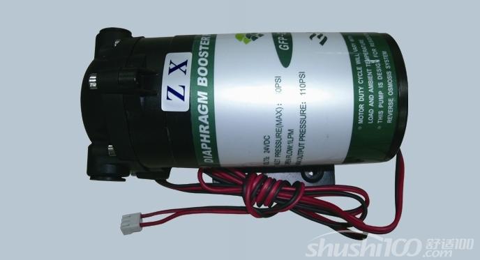 纯水机增压泵原理—纯水机增压泵的工作原理和特点