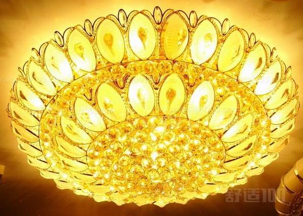 客厅灯水晶—客厅水晶灯安装方法介绍