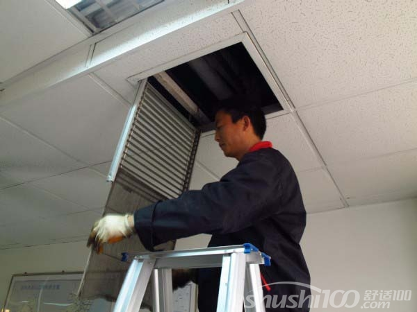 大型中央空调清洗—大型中央空调定期清洗的好处