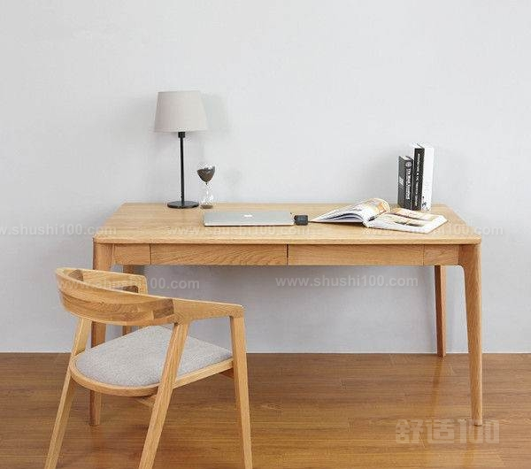 北歐實木書桌—紅蘋果家具圖片
