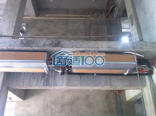 深圳曦城中央空调新风工程案例—舒适100网带来清凉与美观的双重享受