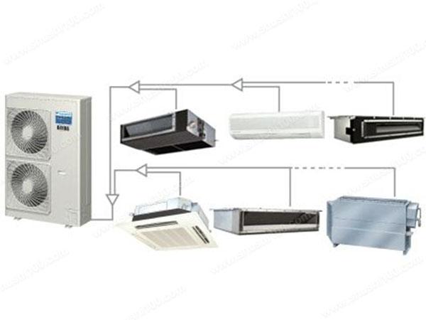 什么是vrv空调—认识vrv空调系统