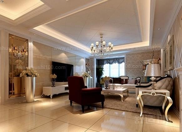 欧式客厅吊顶—欧式客厅吊顶设计方法介绍