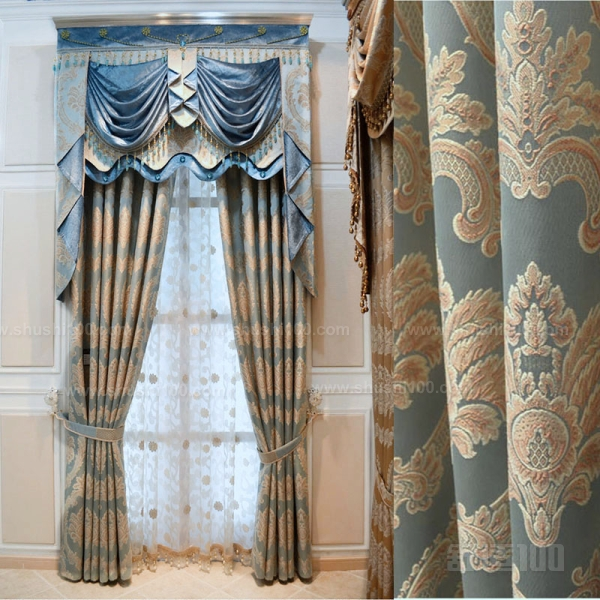 那么欧式风格的窗帘布料在搭配的时候要注意些什么呢?