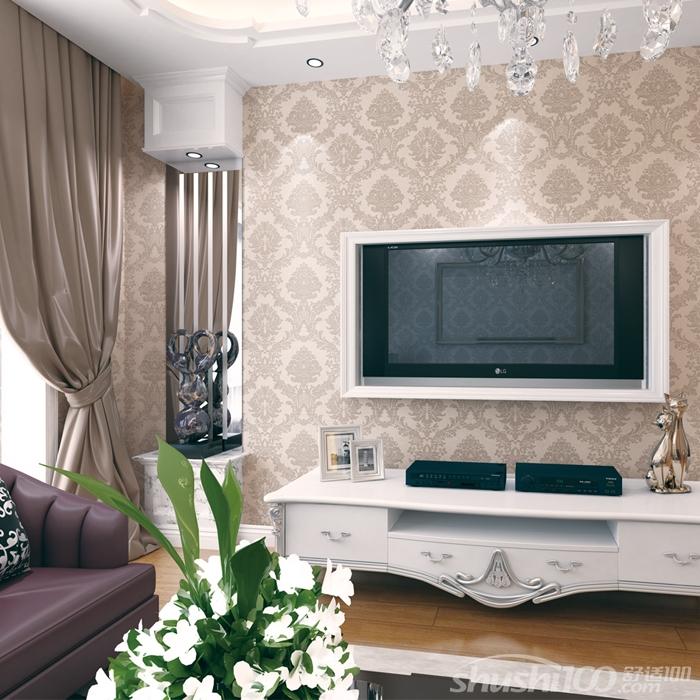 欧式电视背景墙布—高端优雅的欧式墙布