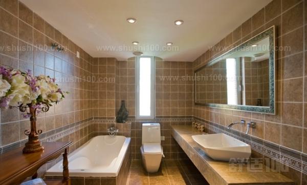 洗脸盆,浴盆→安装连接给排水管→安装灯具