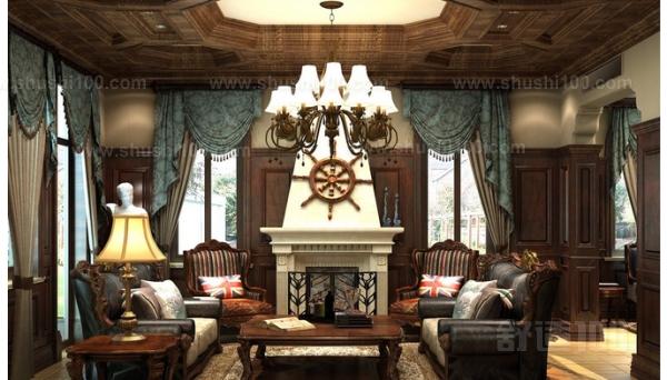 田园风格的印花窗帘,搭配有藤艺头的罗马杆就比较