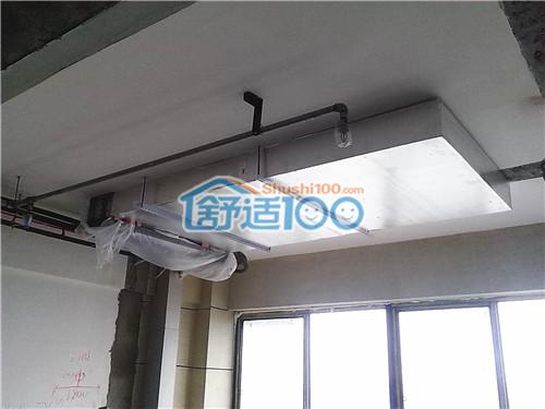 武汉中南国际城中央空调工程案例-打造恒温清凉办公环境
