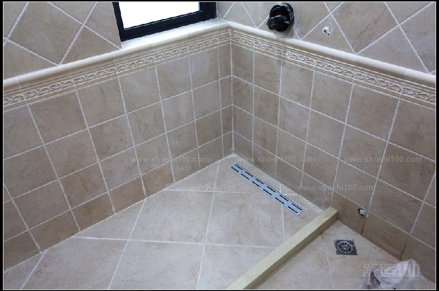 浴室地漏管道结构图