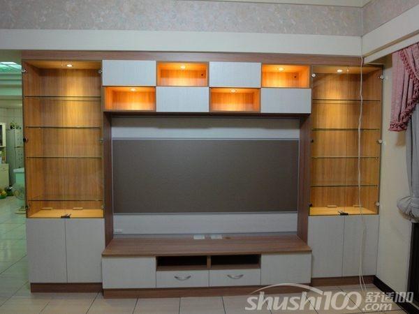 电视墙柜子—电视背景墙组合柜打造攻略