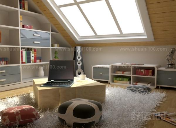 阁楼客厅顶棚设计