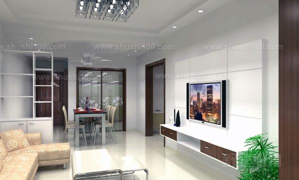 电视背景墙在客厅布置中占有举足轻重的地位,设置方位的正确与否至关