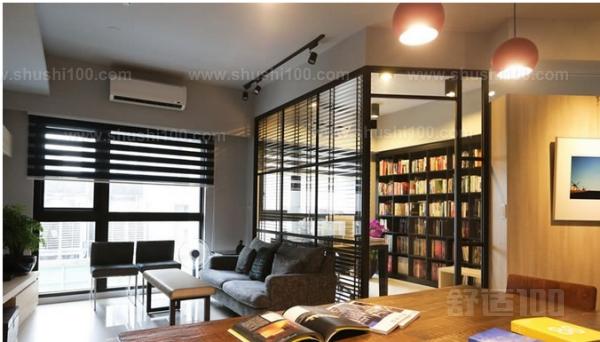 客厅书房玻璃—客厅与书房玻璃隔断的设计技巧