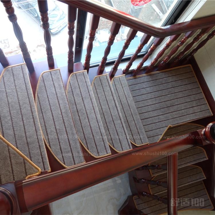 实木楼梯地毯—楼梯地毯的铺装方法