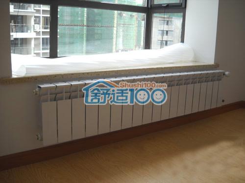 广电江湾新城暖气片安装效果图欣赏
