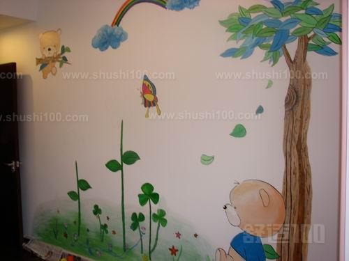 儿童房字画墙—儿童房手绘墙画