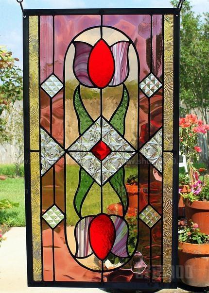 这种玻璃装饰画的图案,色彩与摄影图案非常接近,正反面都能观赏,比现