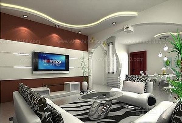 客厅弧形吊顶 客厅弧形吊顶造型装饰效果介绍