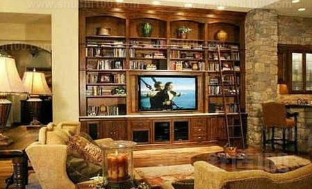 书柜式电视墙 如何设计书柜式电视墙