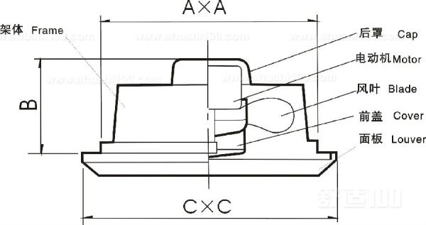 家用换气扇正反转控制电路图