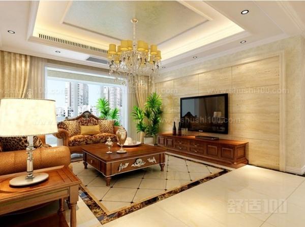 客廳石材裝修—客廳電視墻用大理石裝修好嗎?
