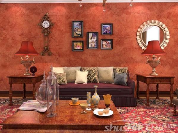 美式风格的墙纸—美式风格壁纸和家居色彩搭配图片