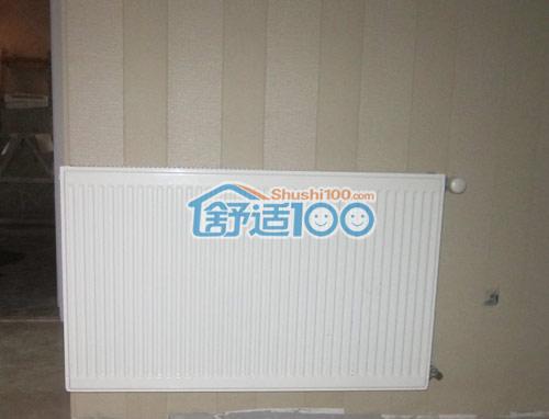 武汉百瑞景中央空调+暖气片工程案例-时尚又实用的完美搭配