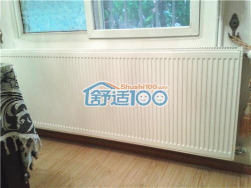 """武汉空中花园明装暖气片工程案例-70㎡小户型里的""""温暖速递"""""""