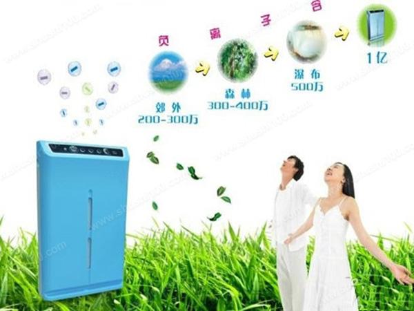 负离子空气净化器有用吗—负离子空气净化器原理和