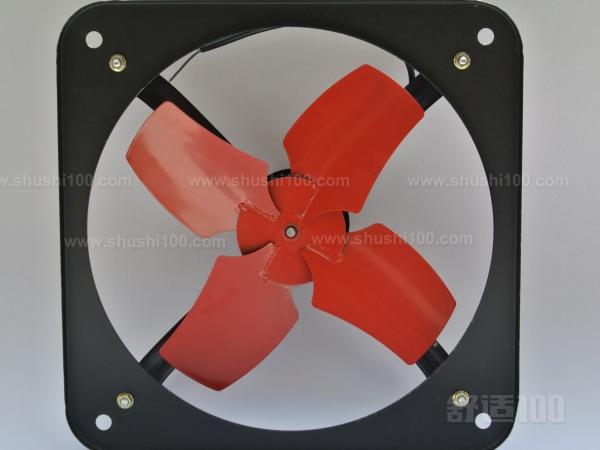 高速正方形排气扇—排风扇的尺寸及安装方法