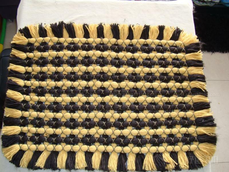 毛线编织地毯的方法有哪些—毛线编织地毯的做法