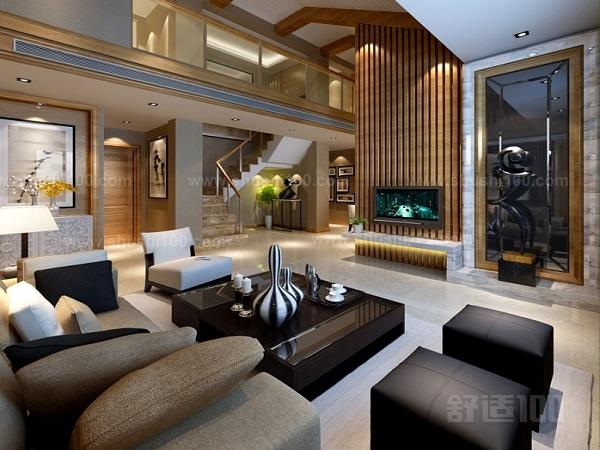 别墅复式楼装修—别墅复式楼客厅和卧室装修技巧