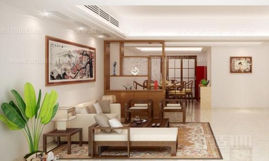 如果餐厅和客厅在同一空间,可以选择在在两者之间打造一堵大小适中的隔断墙,如果整个家装风格是以简约为主的话,可以在隔断上挂一些装饰画。或者通过倾斜排列几块木条纹隔断,将餐厅空间从客厅中独立开来,这种设计让空间富有层次又若隐若现,做到隔而不断,还让空间有一种宽敞感。餐厅与客厅的隔断,可谓一物多用,它同时是餐厅与客厅的壁炉承载体,又是客厅区域的电视背景墙,不多的墙体却发出大大的功效,为餐厅、客厅空间,很好解决了原有的格局问题。 客厅与餐厅之间利用矮柜隔断也是一个不错的方法,简约欢快的空间采用了矮柜最为客厅与餐厅