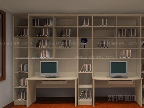 三组合书柜—如何选择实木组合书柜