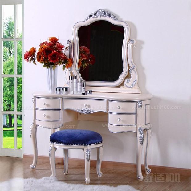 欧式梳妆台小—小欧式梳妆台要如何摆放设计