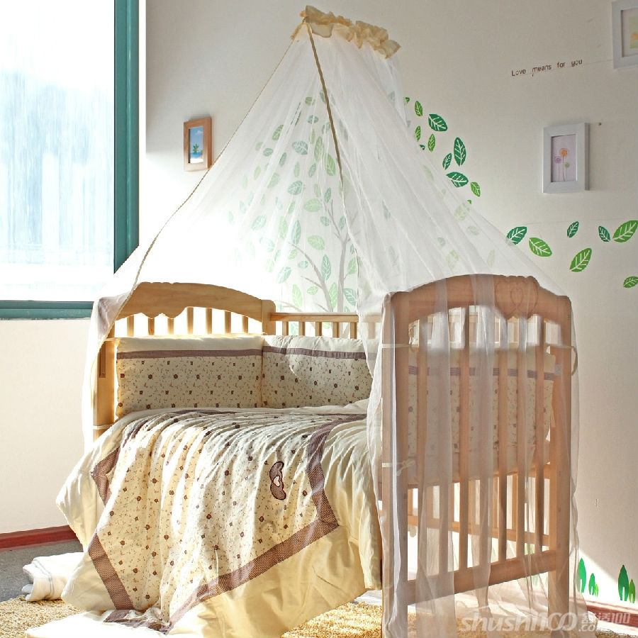 婴儿床蚊帐—婴儿床蚊帐作用及安装介绍