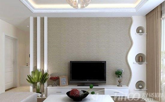 简单电视墙墙纸 简单电视墙墙纸怎么挑选